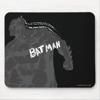 Batman - Wordy Mouse Pad