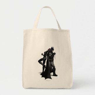 Batman y Catwoman Bolsa Tela Para La Compra