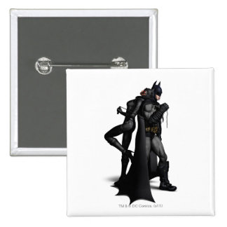 Batman y Catwoman Pins