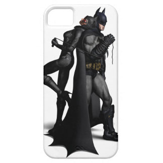 Batman y Catwoman Funda Para iPhone 5 Barely There