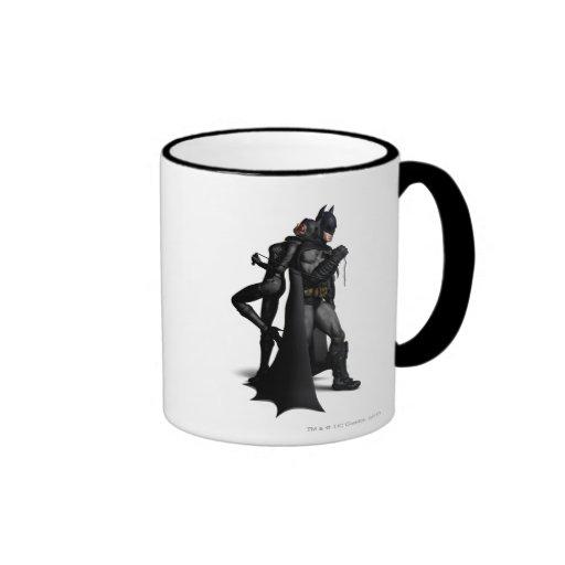Batman y Catwoman Tazas De Café