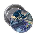 Batman y comodín - batalla pins