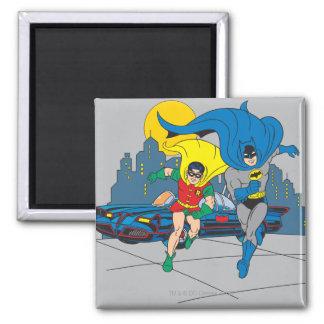 Batman y funcionamiento del petirrojo imanes para frigoríficos