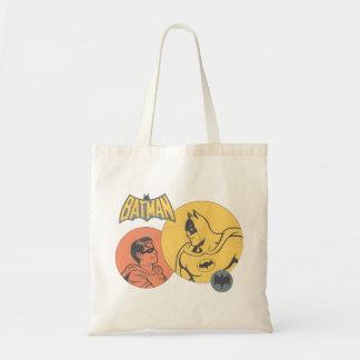 Batman y gráfico del petirrojo - apenado bolsa