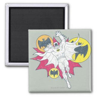 Batman y gráfico del símbolo del palo iman