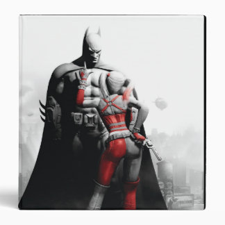 "Batman y Harley Carpeta 1 1/2"""