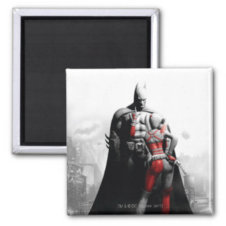 Batman y Harley Imán Cuadrado