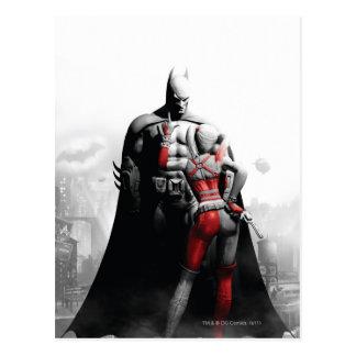 Batman y Harley Postal