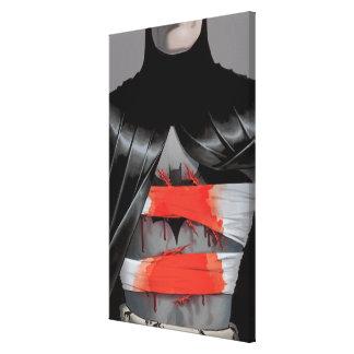 Batman y la cubierta enojada del monje #5 lona envuelta para galerias