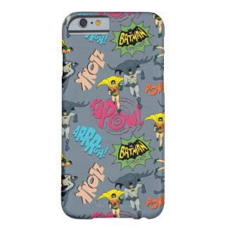 Batman y modelo de la acción del petirrojo funda para iPhone 6 barely there