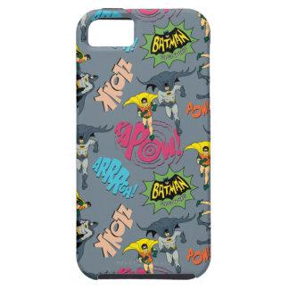 Batman y modelo de la acción del petirrojo funda para iPhone SE/5/5s
