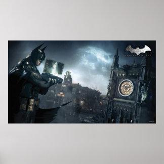 Batman y Oracle Póster