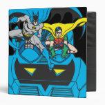 Batman y paseo Batmobile del petirrojo
