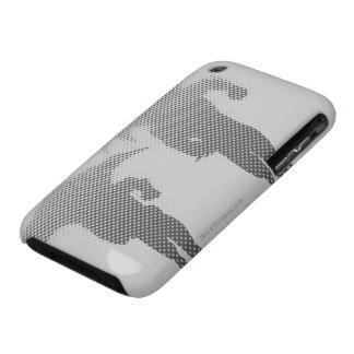 Batman y pendiente del tono medio del petirrojo Case-Mate iPhone 3 coberturas