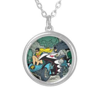 Batman y petirrojo en Batcycle Collar Personalizado