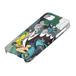 Batman y petirrojo en Batcycle Funda Para iPhone SE/5/5s