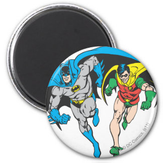 Batman y petirrojo imán redondo 5 cm