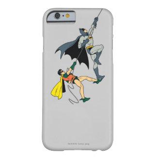 Batman y subida 2 del petirrojo funda de iPhone 6 barely there