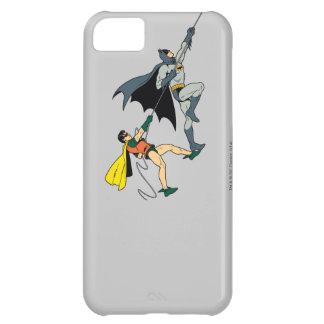 Batman y subida 2 del petirrojo funda para iPhone 5C