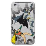 Batman y subida del petirrojo iPod touch Case-Mate cobertura