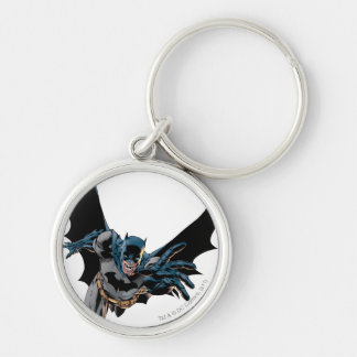 Batman yells and lunges keychain