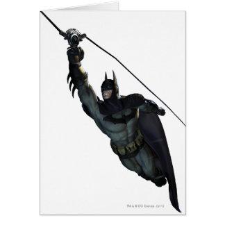 Batman Zip Line Card