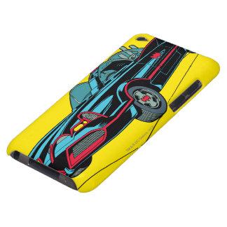 Batmobile Barely There iPod Funda