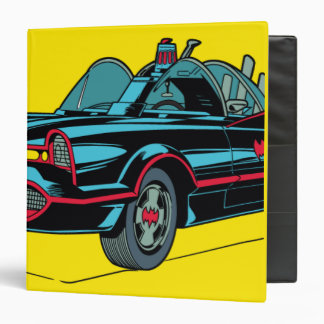 Batmobile Vinyl Binders