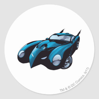Batmobile Front Sticker