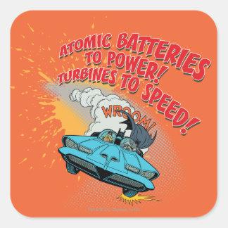 Batmobile Graphic Stickers