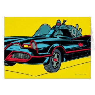 Batmobile Tarjeta De Felicitación