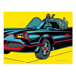 Batmobile Tarjeta Postal