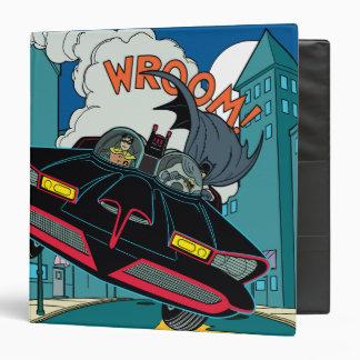 Batmobile Wroom! Vinyl Binders