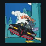 "Batmobile Wroom! Canvas Print<br><div class=""desc"">Batman TV Series (1966)</div>"