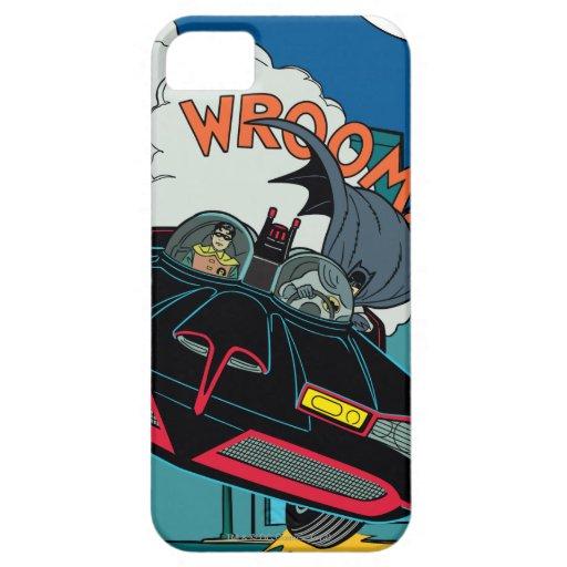 Batmobile Wroom! iPhone SE/5/5s Case
