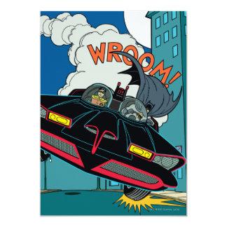 """¡Batmobile Wroom! Invitación 5"""" X 7"""""""