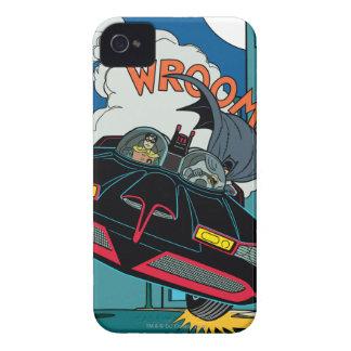 Batmobile Wroom! iPhone 4 Cover