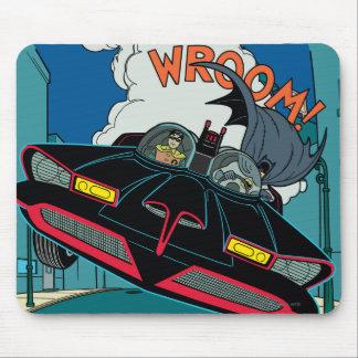 Batmobile Wroom! Mouse Pad