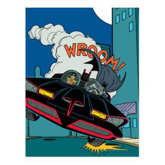 Batmobile Wroom! Postcard