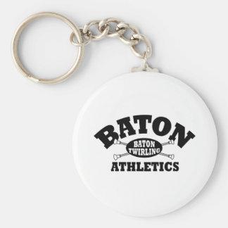Baton Athletics Keychain