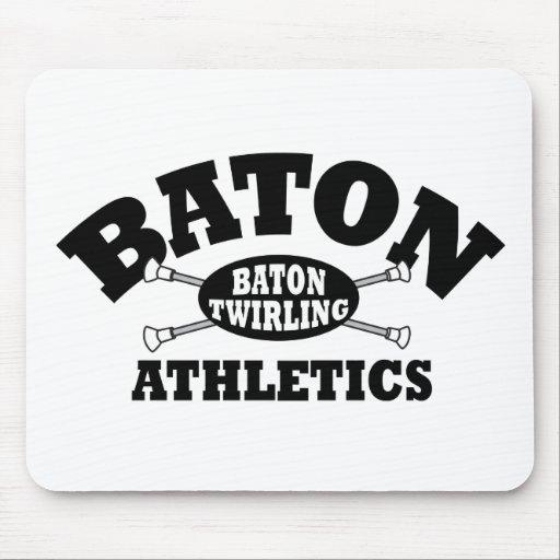 Baton Athletics Mouse Pad