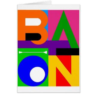 """BATON"" Note Card"