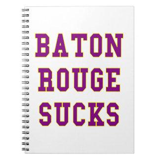 Baton Rouge chupa Cuadernos