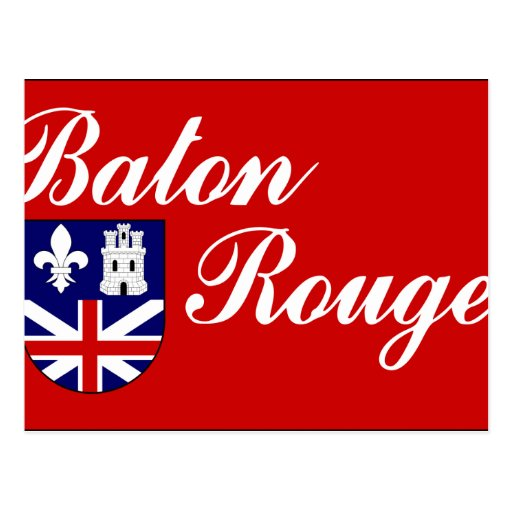 Baton Rouge, Estados Unidos Tarjeta Postal