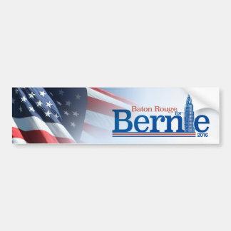 Baton Rouge for Bernie 2016 Bumper Sticker   Flag