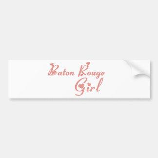 Baton Rouge Girl tee shirts Bumper Stickers
