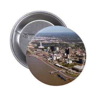 Baton Rouge Louisiana Pinback Button