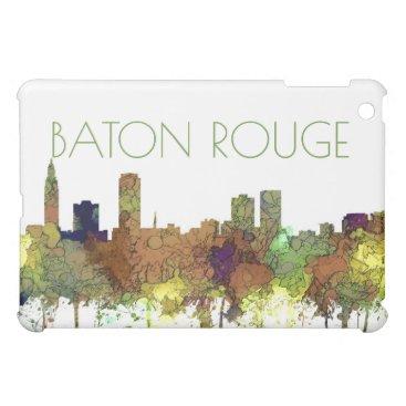Baton Rouge Louisiana Skyline Safari Buff iPad Mini Case