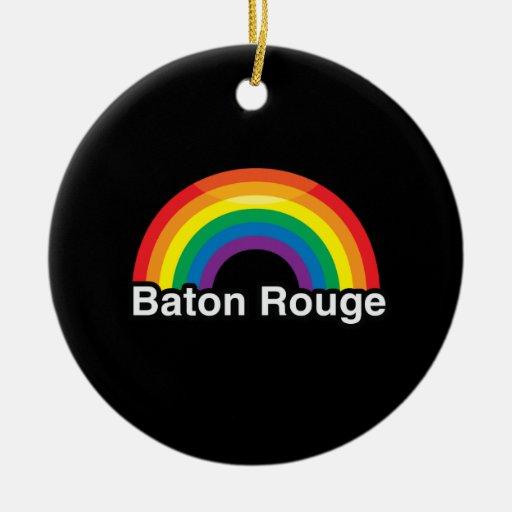 BATON ROUGE CHRISTMAS TREE ORNAMENT