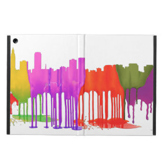BATON ROUGE SKYLINE PUDDLES - CASE FOR iPad AIR